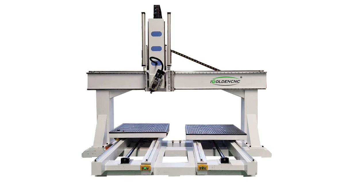 Router a doppia tavola 4 Axis ATC CNC Router